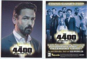 The 4400 Season 2 promo card P2 NM FREE SHIPPING