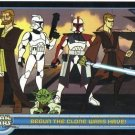 Star Wars Clone Wars promo card P1 NEAR MINT FREE SHIPPING