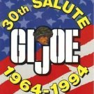 G.I. Joe 30th Salute promo card NEAR MINT FREE SHIPPING