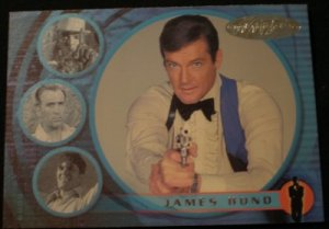 James Bond 007 40th Anniversary Promo Card P2 NEAR MINT FREE SHIPPING