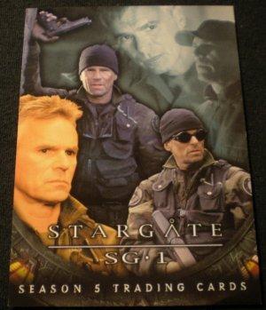 2002 Stargate SG-1 Season 5 Promo Card P2 near mint FREE SHIPPING