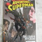 ADVENTURES OF SUPERMAN 627 NM SIGNED BYNELSON W/COA
