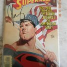 ADVENTURES OF SUPERMAN 600 NM SIGNED BY JOE CASEY W/COA