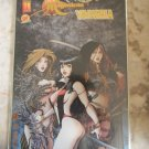 Witchblade Magdalena Vampirella Convergence #1 DF GOLD FOIL COVER Variant