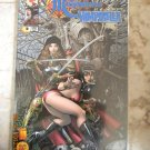Witchblade Magdalena Vampirella Convergence #1 DF BLUE FOIL COVER Variant