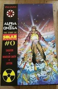 Solar Man of the Atom Alpha & Omega HC Slipcase w/ Poster COMPLETE Valiant
