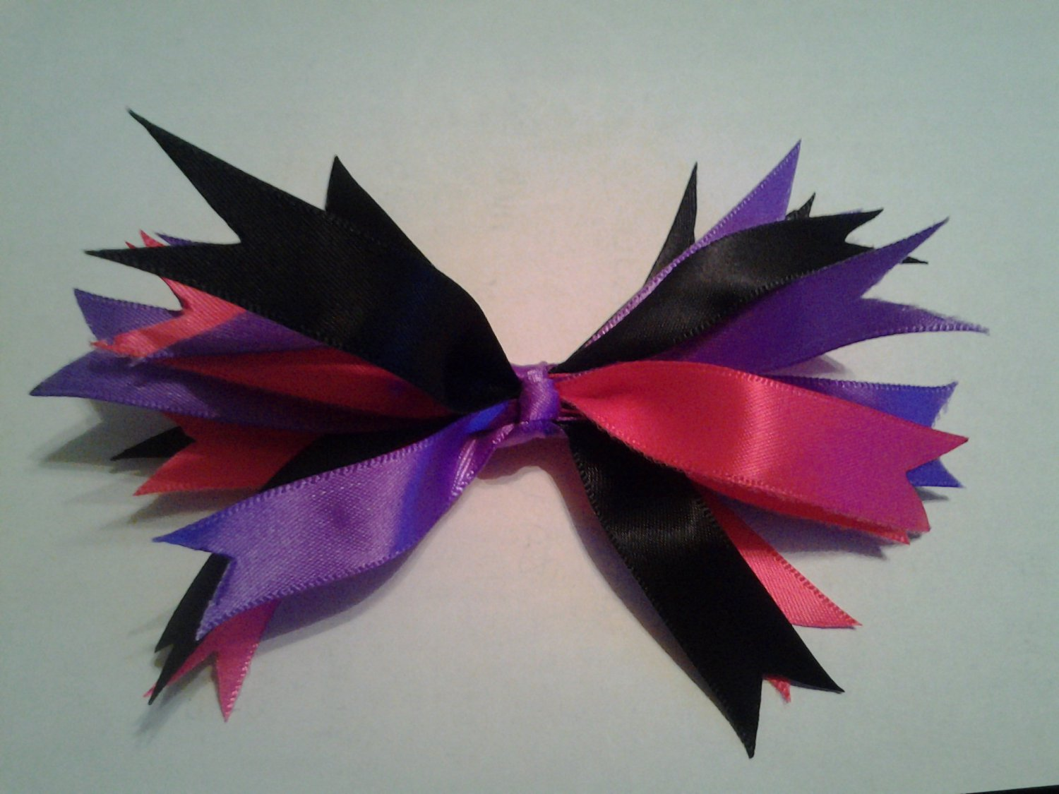 6 inch Pink Black and Purple