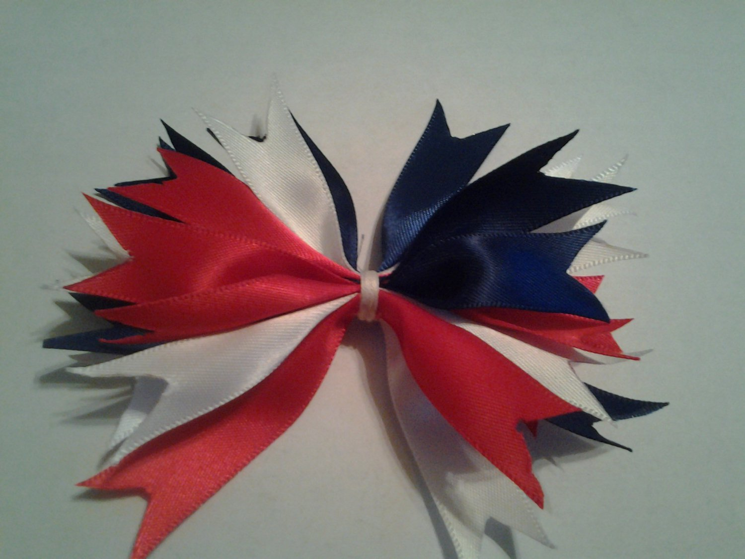 6 inch Red white and Blue