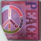 """New Textured Graffiti """" Peace """" Canvase"""