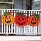 New Halloween Pumpkins Decorative Bunting