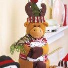 New 4-Pc. Christmas Reindeer Holiday Gift Towel Set