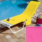Bright Watermelon Colored Chair Cover