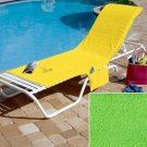 Bright Kiwi Colored Chair Cover
