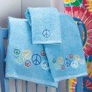 """Peace Sign Bath Collection """"3-Pc. Towel Set"""""""