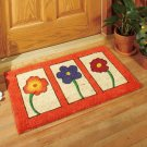 "30"" Flowers Design Coir Doormat"