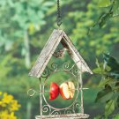 Metal Hanging Fruit Bird Feeder