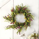 "New Beautiful Spring Wreath Decor 20"" dia. x 3-1/2"""