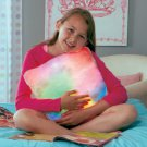 New Battery Operated Cozy Cuddler Color-changing Lighted Pillow