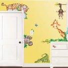 New Jungle Themed Room FX Jumbo Wall Decor Appliqués