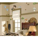 New Woods Themed Room FX Jumbo Wall Decor Appliqués