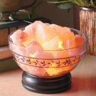 New nature's air purifier Ionic Salt Bowl Decor Lamp
