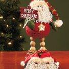 New Decorative Santa Holiday Christmas Yarn Pal