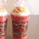 New Jingle Jitters Latte Vanilla Cinnamon Wax Candle