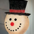 New Holiday Christmas Snowman Porch Light Cover