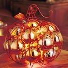 New Decorative Lighted Wire Pumpkin