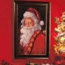 "New Holiday Christmas 15"" x 21"" Traditional Santa Wall Art"