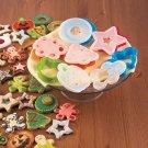 New 12-Pc. Cookie Cutter & Stencil Set