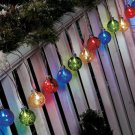 New 20-Pc. Solar Holiday Lights