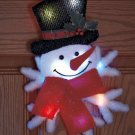 New Battery Operated Color Changing Christmas Snowman Decor