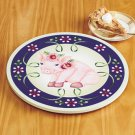 New Pink Pig Design Wooden Rotating Lazy Table Top Kitchen Susan Server