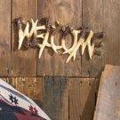 New Wildlife Deer Antlers Welcome Plaque