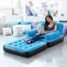 New Blue Multi-Max Inflatable Air Chair / Bed Great for Camping