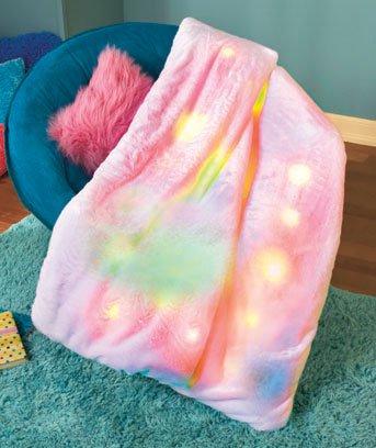 New  Cozy Cuddler Lighted Throw / Blanket