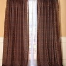 New Animal Leopard Print Window Curtain Panel
