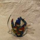 MURANO Art Glass Fish Shaped Aquarium Sculpture Figurine Paperweight 8 Fish 5.75