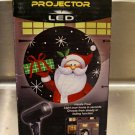 EZ Illuminations Holiday Projector LED Outdoor Yard Decor Christmas Santa Light