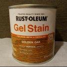 Rust-Oleum 8 Oz GEL STAIN Golden Oak 1 COAT APPLICATION 344615  no drips runs