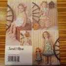 "Simplicity 1472 Pattern Sarah Rose Romper, Dress, Top, Pants, 18"" Doll Dress Sew"