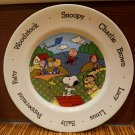 Johnson Bros. Peanuts Character Collectible Plate - Made in England 1966 Vintage