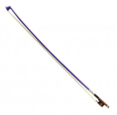 On Sale BW100PR 3/4 Size PURPLE Wood Stick Violin Bow for Student, Beginner