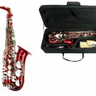 MERANO E Flat RED / Gold Alto Saxophone with Case and Accessories