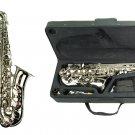 MERANO E Flat SILVER NICKEL Alto Saxophone with Case and Accessories