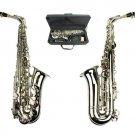 MERANO E Flat Silver Alto Saxophone with Zippered Hard Case
