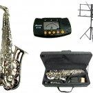 MERANO E Flat Silver Alto Saxophone with Case, Metro Tuner.Music Stand