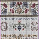 Celtic Summer 17th Century Style Sampler Cross Stitch