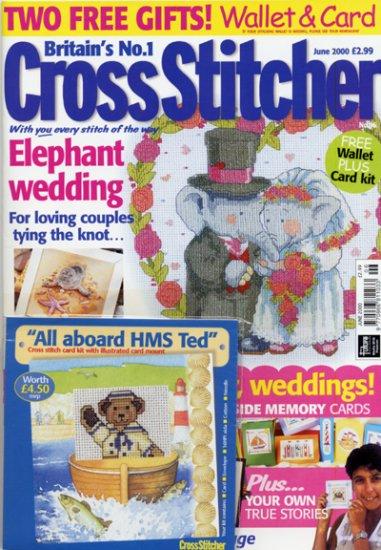 Cross Stitcher Mag June 2000